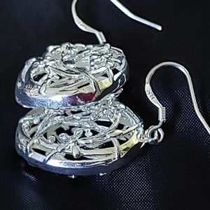 925 Sterling Earrings with hook